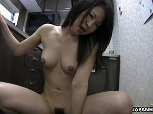 Japanese MILF POV sex