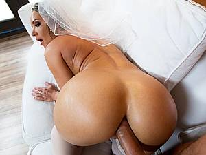 hot bride needs a phat weenie in the butt