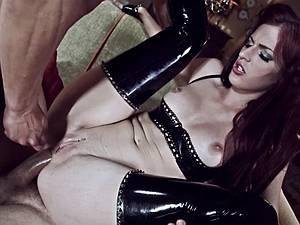 Indecent fantasies with fetish slut Mira Sunset